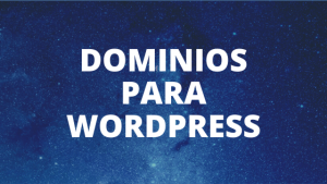 dominios Para Wordpress